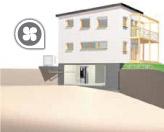 Pompe di calore aria/acqua monoblocco da esterno