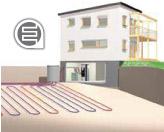 Pompe di calore salamoia/acqua collettore geotermico