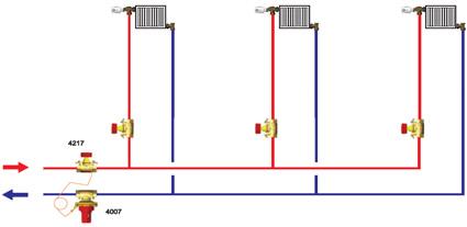 esempio utilizzo regolatore di pressione differenziale Herz 1