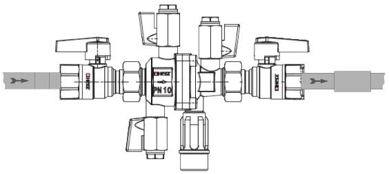 Herzitalia.it | Disconnettore idraulico Herz disegno