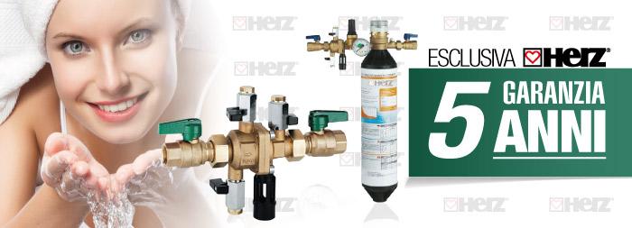 Herzitalia.it | Disconnettore idraulico e gruppo riempimento garanzia Herz 5 anni