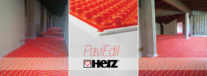 Herzitalia.it | Sistema radiante Herz PaviEdil