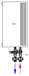 Herzitalia.it | esempio installazione HerzCON con impianto a fan coil