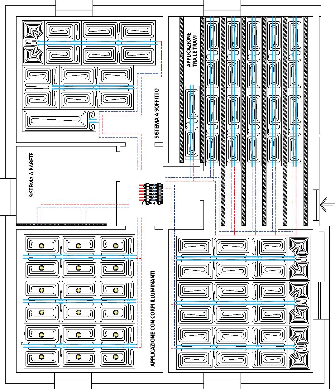 Herzitalia.it   Esempio schema installazione Herz Nuvola Tech