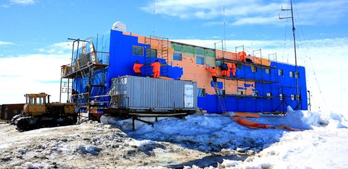 Herzitalia.it   Herz riscalda la stazione di ricerca sovietica Mirny in Antartide